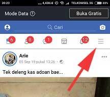 Cara Menyembunyikan Tanggal Lahir (Ulang Tahun) Di Facebook Lite