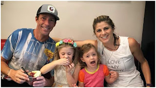 Travis With Wife And Kids