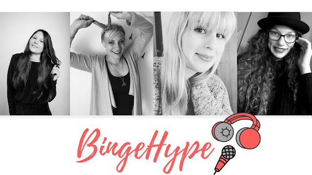 BingeHype Serienpodcast, Serienpodcast, Podcast Blogger, Film Podcast
