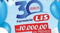 Promoção Aniversário 30 anos Farmácia LIS