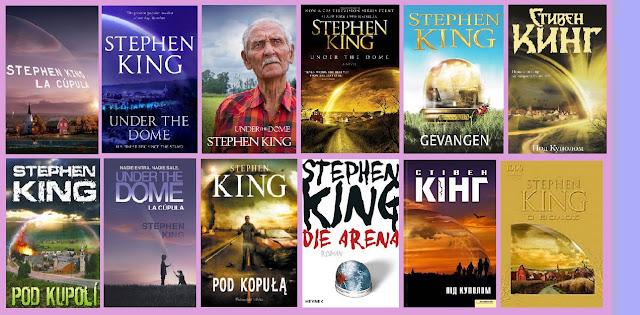 portadas del libro de ciencia ficción La cúpula, de Stephen King