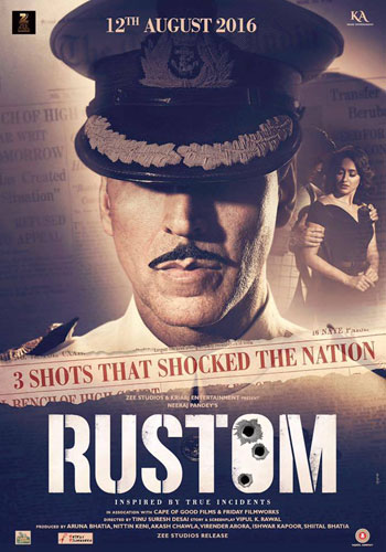 full cast and crew of bollywood movie Rustom 2017 wiki, Akshay Kumar, Esha Gupta, lleana D Cruz story, release date, Actress name poster, trailer, Photos, Wallapper
