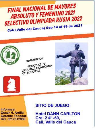 Final Nacional Camp. Nacional Mayores Abs y Fem - Selectivo Olimpiada  (Dar clic a la imagen))