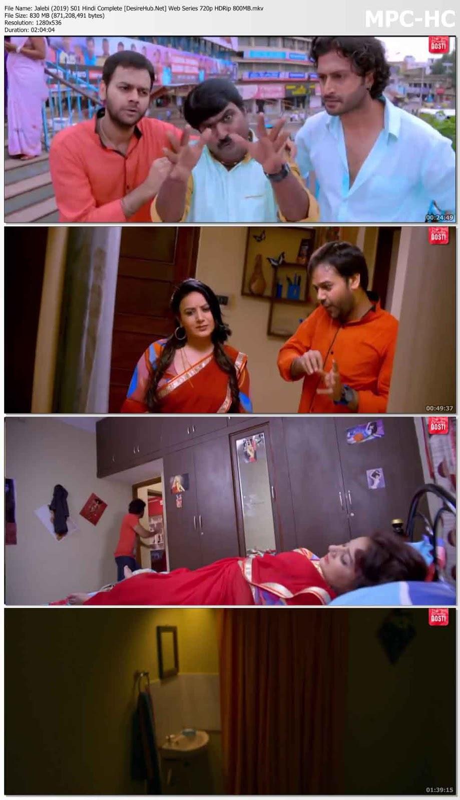 [18+] Jalebi 2019 S01 Hindi Complete Web Series 720p HDRip 800MB Desirehub