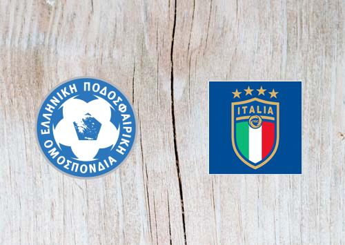 Greece vs Italy Full Match & Highlights 8 June 2019