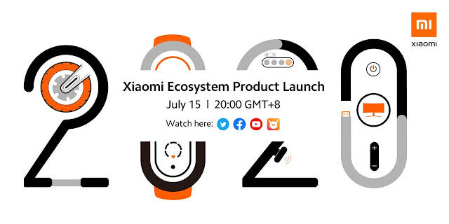 Vêm aí alguns produtos do Ecossistema da Xiaomi no dia 15 de julho