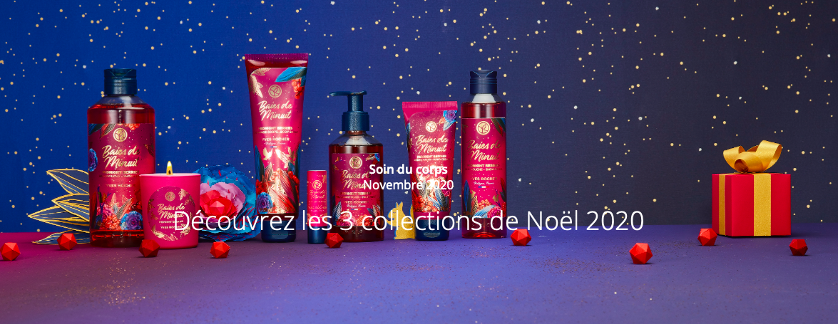 Nouvelle collection de Noël 2020 Yves Rocher