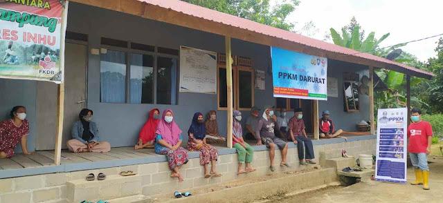 POLRI Bersama FKDB Laksanakan Giat Sosialisasi PPKM Darurat di Wilayah Kerja 20 Provinsi