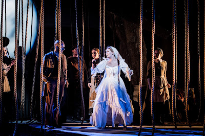 British Youth Opera - Alexandra Lowe (The Bride) - Judith Weir: The Vanishing Bridegroom (Photo Robert Workman)