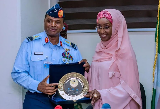 Humanitarian Affairs Minister, Sadiya Farouq Reportedly Weds Chief Of Air Staff, Sadique Abubakar