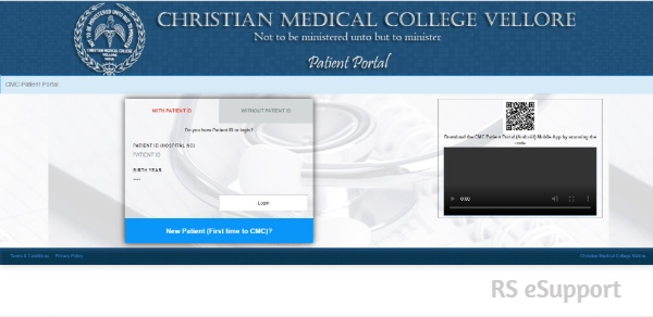 CMC Vellore Online Appointment