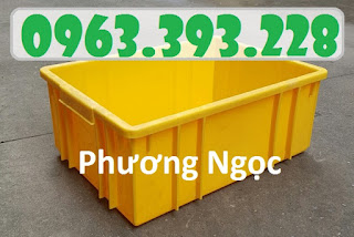 Thùng nhựa công nghiệp, thùng nhựa đặc B3, hộp nhựa đựng đồ cơ khí 9351ed7c5550b00ee941