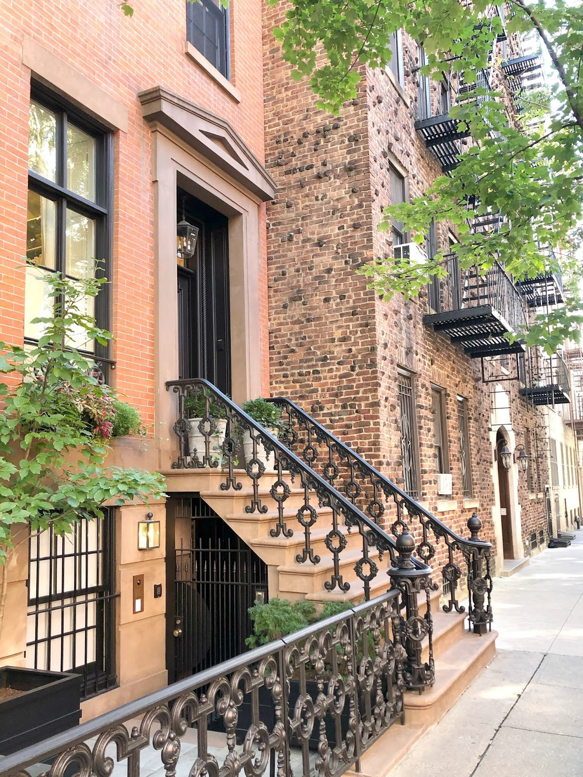 40 Things you must do in New York - Brownstones