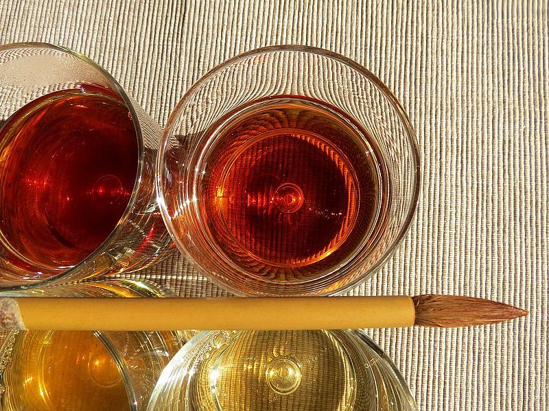 Herbata w Zentangle