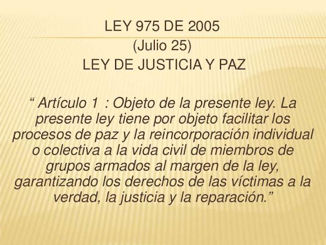 Carta del Comité de Presos Políticos de las Autodefensas Desmovilizadas al Comité de Seguimiento a la Ley de Justicia y Paz