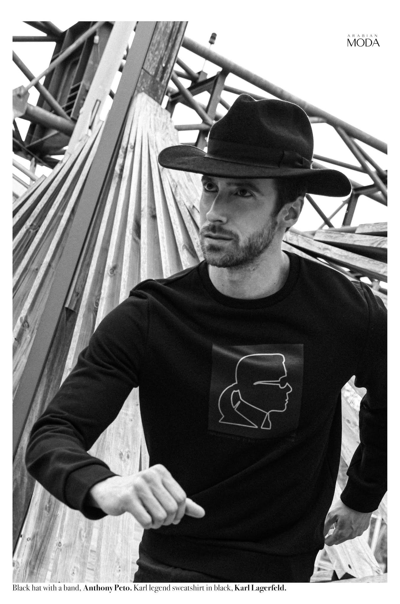Arabian Moda x Anthony Peto x Karl Lagerfeld