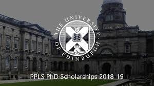 PPLS PhD Scholarship