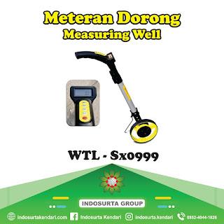 Jual Meteran Dorong Measuring Well WTL-SX0999 di Kolaka