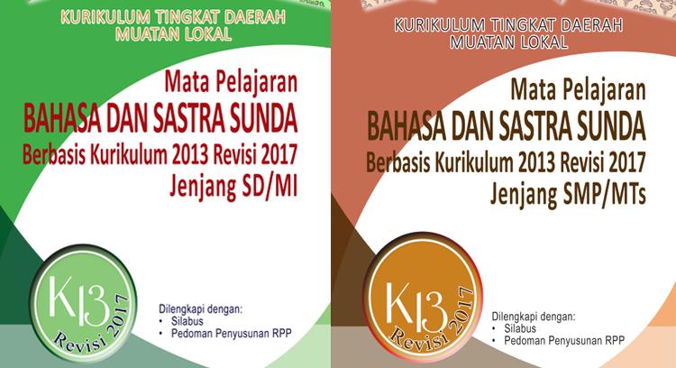 Bahasa dan Sastra Sunda Kurikulum 2013 revisi 2017