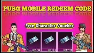 Pubg Mobile Character Voucher Redeem Code कहां से लें