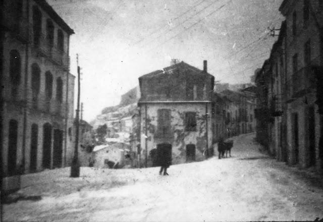 Plaza del Llanete de Martos a finales del siglo XIX