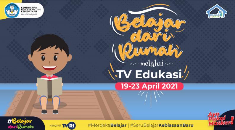 Panduan BDR TVRI dan TV Edukasi Minggu Ke-16