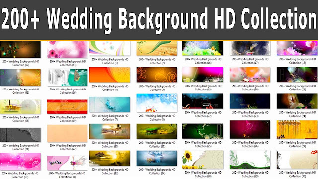 200+ Wedding Backgrounds