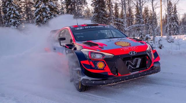 WRC Arctic Rally Finland 2021 schedule