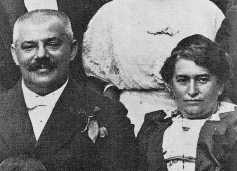 Родители Франца Кафки