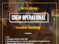 lowongan kerja crew operasional di bandung