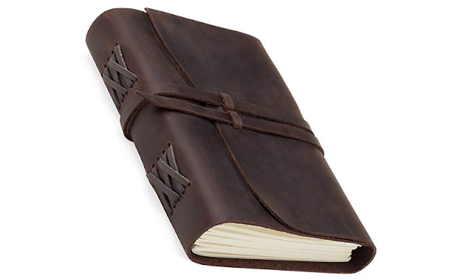 Choosing A Diary For Next Year - the Unwritten Journal leather notebook from Jofelo