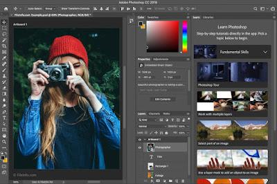 مميزات وعيوب تطبيق  Adobe Photoshop CC