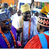 WOW! The Ooni of Ife and the Oluwo of Iwo-land show up at a millionaire wedding.