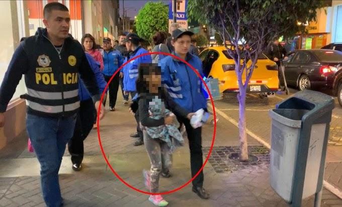 Miraflores: Niños explotados por venezolanos y peruanos fueron rescatados en un operativo