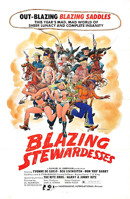 Poster for Al Adamson's BLAZING STEWARDESSES!