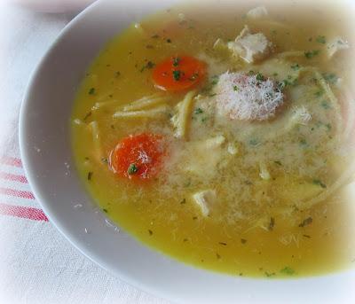 Lemon & Chicken Soup