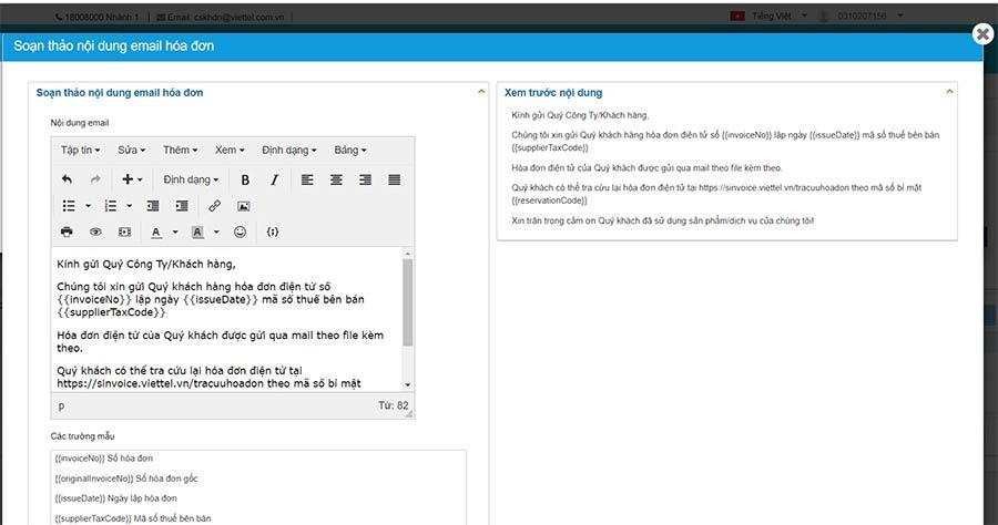 Hình 5 - Soạn thảo nội dung email