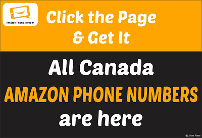 Amazon Phone Number Canada | All Canada Amazon Phone Number are Here
