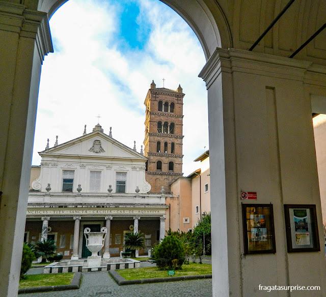 Igreja de Santa Cecília in Trastevere, Roma