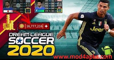 Dream League Soccer 2020 APK + Mod: Unlimited money| Dream League Soccer 2020 7.18 Apk + Mod (Money)