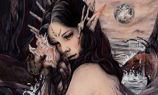 Ilustración, Presagio de Margarita Luna Vega Gil
