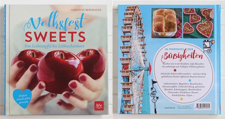 Rezension/Buchvorstellung Volksfest Sweets von Christine Bergmayer
