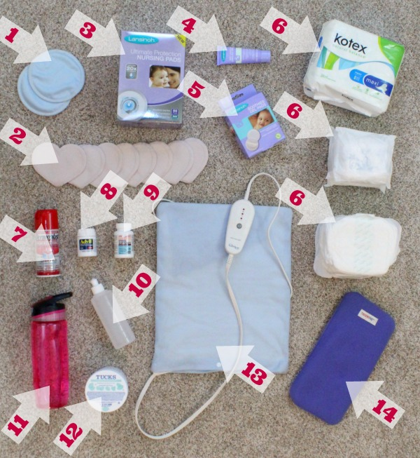 Postpartum essentials: Which supplies to include in your postpartum recovery care kit, and which ones you shouldn't waste your money on