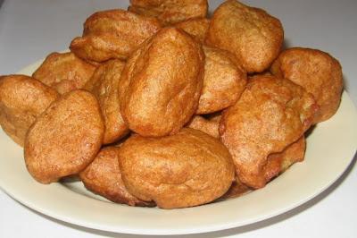 Akara balls served in a saucer