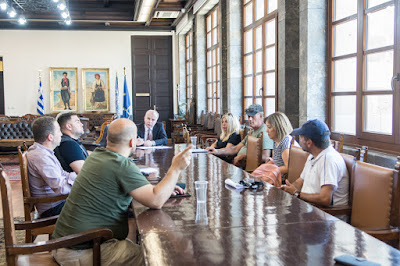 Συνάντηση με Δήμαρχο Καμπουράκη