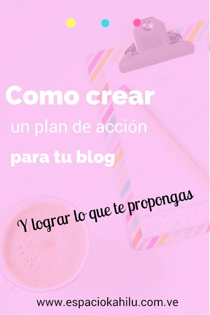 como crear un plan de acción