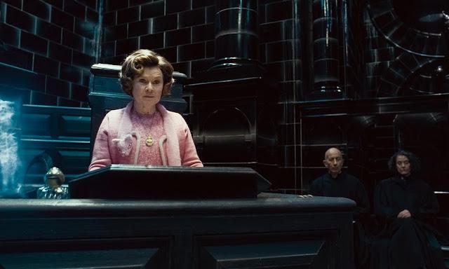 Долорес Ъмбридж в Хари Потър и даровете на смъртта