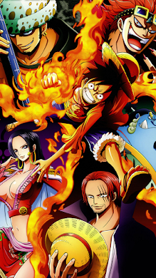 wallpaper one piece hp xiaomi redmi note 8