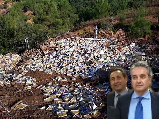 Θεσπρωτία: 10.000 ευρώ πρόστιμο θα πληρώσουν οι Δημότες Φιλιατών για την παράνομη χωματερή του Δήμου που πέταξαν τα βιβλία