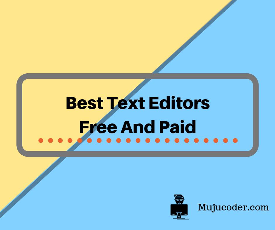 free text editor